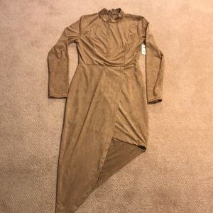 Charlotte Russe beige/tan dress